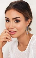 Ceremonial Earrings in gold