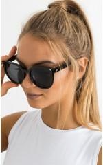Fighting Rays sunglasses in black