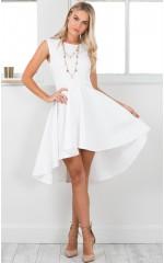 Hysteria dress in white