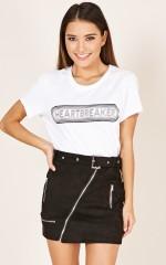 Heartbreak Kid t-shirt in white