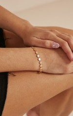Hollywood Lights bracelet in gold