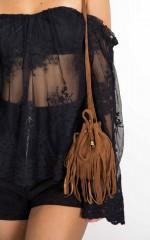Infringe Bag in tan