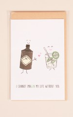 Imagin My life Without You card