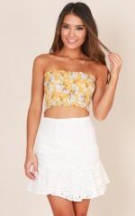 Jemima skirt in white