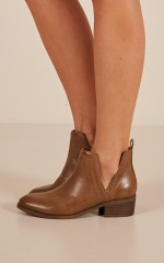 Lipstik - Rosemary Boots in tan
