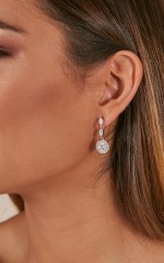 Lonely With You earrings in silver