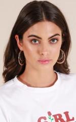 Lost Opportunity earrings in silver