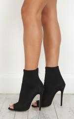 Billini - Giselle Heels in black lycra