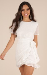 Perfect Solution dress in white