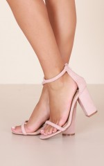 Billini - Quatro Heels in blush micro