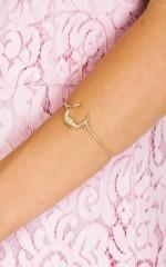 Shine Through The Skies bracelet in gold