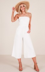 Summerday Jumpsuit in White
