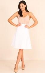 The Exchange Skirt in White