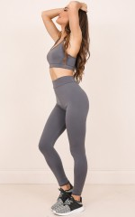 The Limits Tights in Charcoal