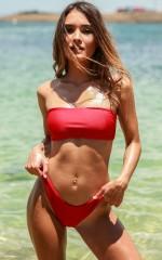 Vitamin Sea Bikini in Poppy