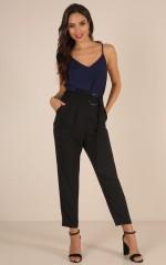 Like Nothing Else pants in black