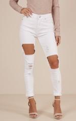 Natasha jeans in white