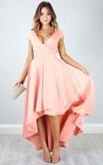Chasing Forever dress in blush