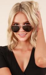 Bang Bang sunglasses in gold