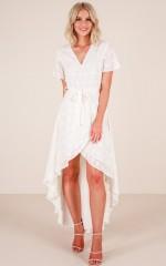 Roseville Maxi Dress in White