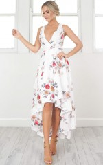 Ocean Avenue dress in white floral