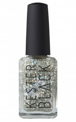 Kester Black - Comet nail polish in silver holographic