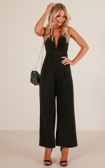 Be Humble jumpsuit in black