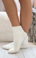 Cold Feet socks in white
