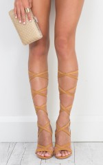 Billini - Preen Heels in Tan micro