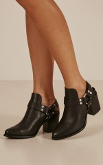 Therapy - Marlin Boots in black