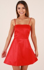 True Romance Dress in Red