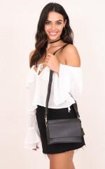 Wishing Girl bag in black
