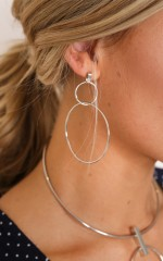 You Deserve It earrings in silver
