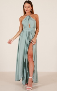 Love This City Maxi Dress In Sage
