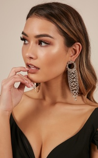 Too Much Potential earrings in silver and gold