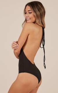 Fantasia Bodysuit In Black