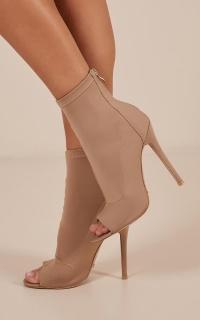 Billini - Giselle Boots In Camel Lycra