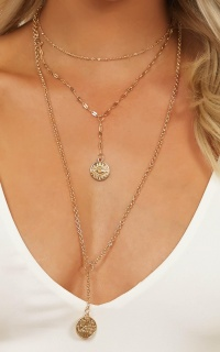 Im Ready Necklace In Gold