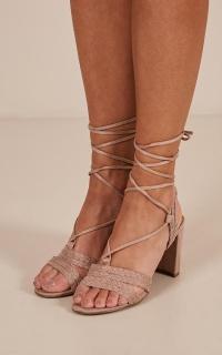 Verali - Guinea Heels In Blush Micro