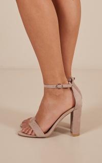 Billini - Jessa Heels In Nude Micro