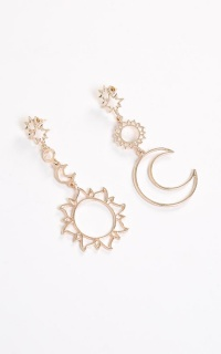 Night And Day Earrings In Gold