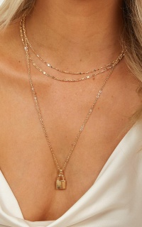 Together We Can Necklace In Gold