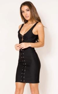 Uploaded dress in black