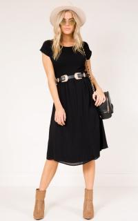 Louisiana Dress in black