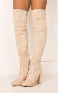 Billini - Lara Boots in stone micro