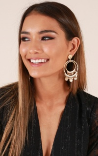 All Types earrings in gold