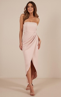 Already Home Dress in blush