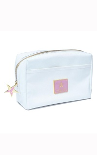 Jeffree Star Cosmetics - Makeup Bag In White Glitter