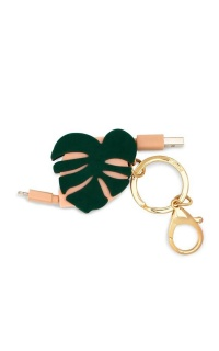 Ban.do - Charger Keychain Monstera