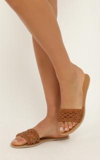 Billini - Capraia Slides In Tan